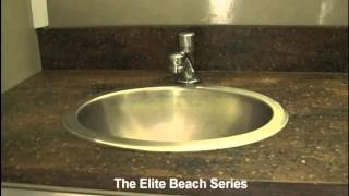 Portable Restrooms Trailer | Portable Restrooms For Rent | The Elite 2 Station Beach Series