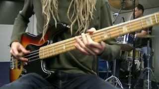 Shuffle Feel Funk Rock Bass & Drum Grooves