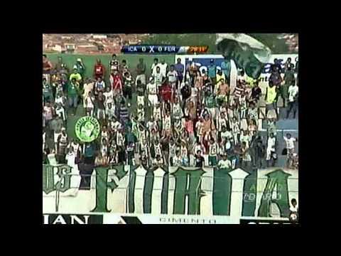 Campeonato Cearense - Gol do Icasa! Icasa 1 x 0 Ferroviário - 12/01/2013