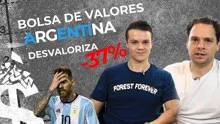 Bolsa de Valores Argentina COLAPSA | Eleições afetam o Mercado Financeiro