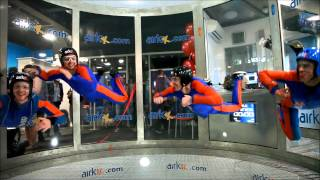Airkix Indoor Skydive Basingstoke Official Opening