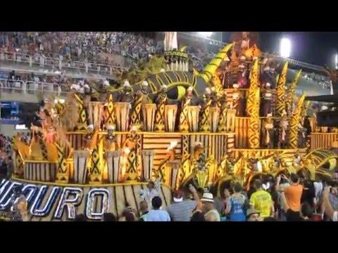 Rio Carnival 2016 at Sambódromo, Rio de Janeiro, Brazil