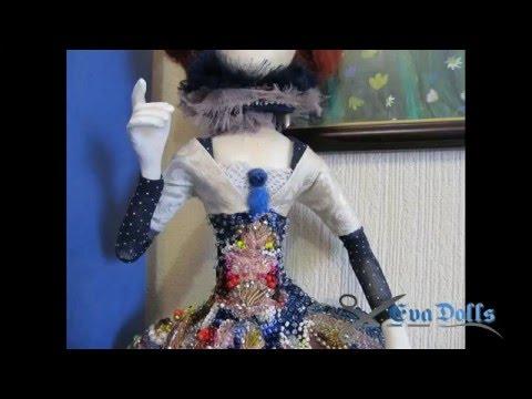 Авторская кукла, мастер класс, часть 2  Одежда и обувь. artdoll.