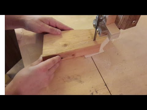 Homemade wooden toy