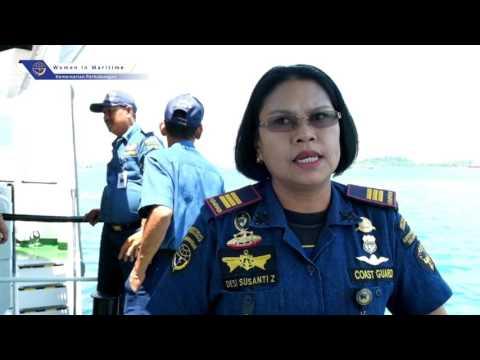 Women in Maritime - Nahkoda Perempuan di KN Sarotama