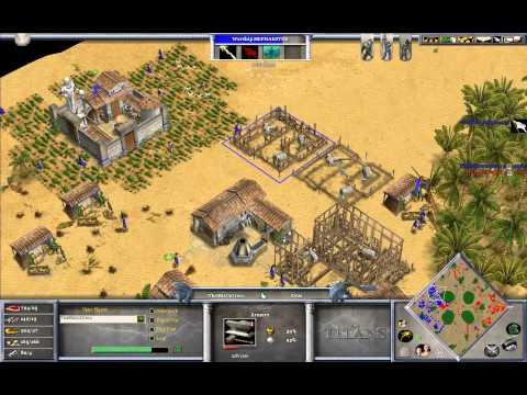 TheMista (Zeus) vs HellsRavage  (Isis) Game 1 - Age of Mythology The Titans