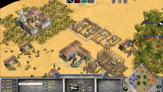 TheMista (Zeus) vs HellsRavage  (Isis) Game 1 - Age of Mythology The Titans