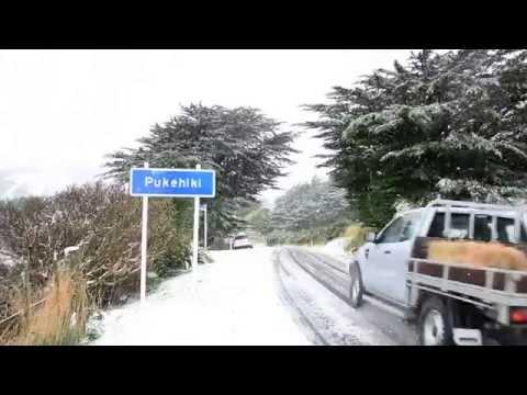 Otago Peninsula Snow