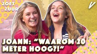 SUPERMODEL JOANN geconfronteerd met HAAR ANGST!  - Zoet/Zuur - CONCENTRATE VELVET