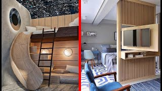 Great Space Saving Ideas   and Ingenious Home Designs ▶ 12 !