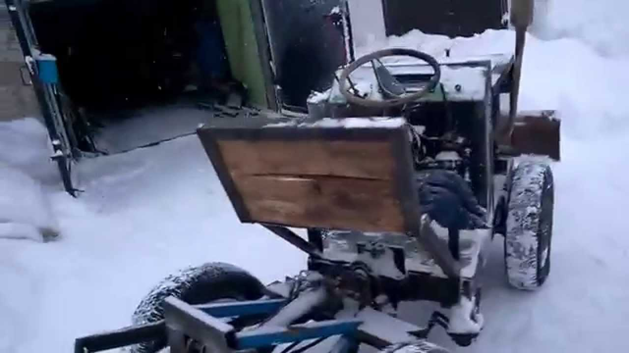 Ока трактор своими руками видео