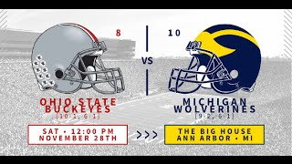 2015-11-28 No. 8 Ohio State at No. 10 Michigan No Huddle