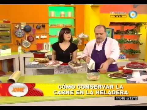 C mo ordenar tu heladera by cocineros argentinos watch for Como ordenar la nevera