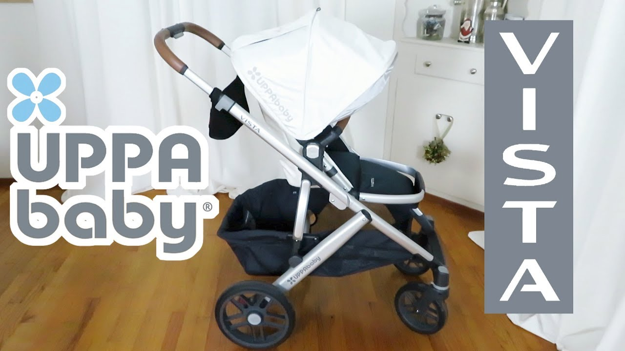 2017 Uppababy Vista Stroller And Mesa Carseat
