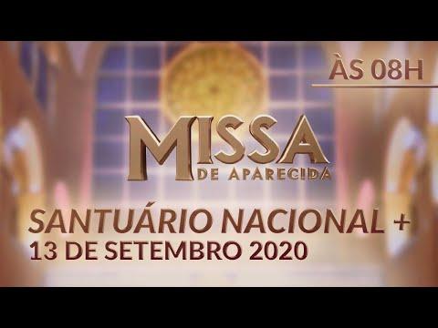 Missa | Santuário Nacional de Aparecida 08h 13/09/2020 from YouTube · Duration:  1 hour 1 minutes 51 seconds
