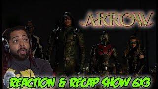 """ARROW Season 6 Episode 3 Reaction & Recap Show! (""""Next Of Kin"""")"""