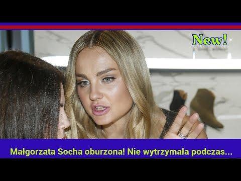 Małgorzata Socha oburzona! Nie wytrzymała podczas wywiadu!