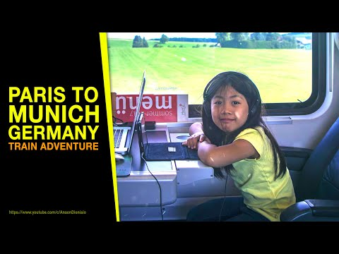 Train Ride From Paris To Munich | Germany