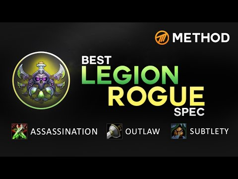 The Best Legion Rogue Spec Youtube