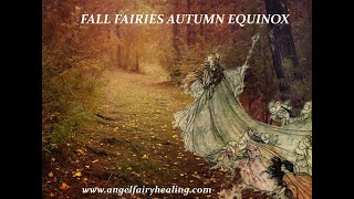 Fall Fairies Autumn Equinox