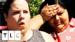 Whitney Confronts Avi With The Woman He Two-Timed Her With! | My Big Fat Fabulous Life