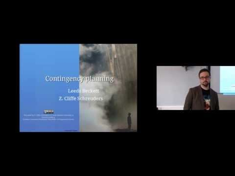 Contingency Planning: Computer Security Lectures 2014/15 S1
