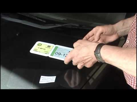 Tax, Insurance and NCT Disc Holder