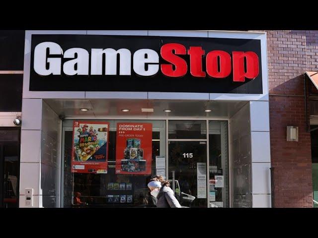 GameStop Is Back! Meme Stock Mania Kicks Up Anew