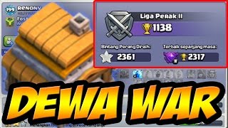 AKUN COC DEWA WAR ASLI-Bintang War 2000 Lebih-Clash Of Clans Indonesia-MISTERI COC