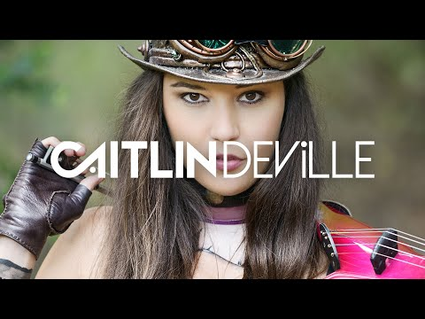League of Legends Caitlyn plays Warriors - Imagine Dragons (Electric Violin Cover)