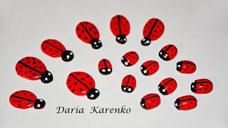 DIY Божья коровка для канзаши и украшений. Два способа! / Ladybug kanzashi(Хочу поделится с вами интересной идеей, как самостоятельно изготовить божью коровку для украшений, поделок..., 2017-02-15T19:38:09.000Z)