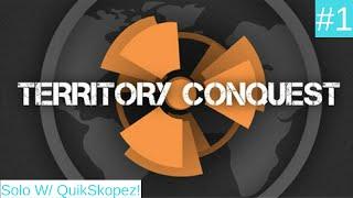 ROBLOX Territory Conquest (Europe 2.0) #1 - Dank Games Inc. (Solo w/ QuikSkopez)