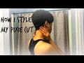 HOW I STYLE MY PIXIE CUT