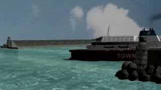 Herald Of Free Enterprise capsizing (3D animation)