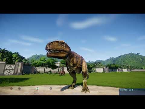 jurassic-world-evolution:-nasutoceratops-vs-giganotosaurus-(base-genome)