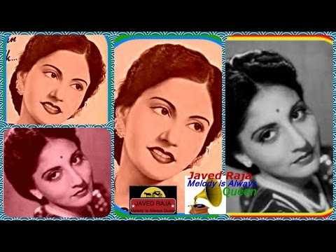 HUSN BANO-Film-AAINA-[1944]- Khushi Ke Tarane Sunata Chala Ja-[Rarest Gem-First Time]