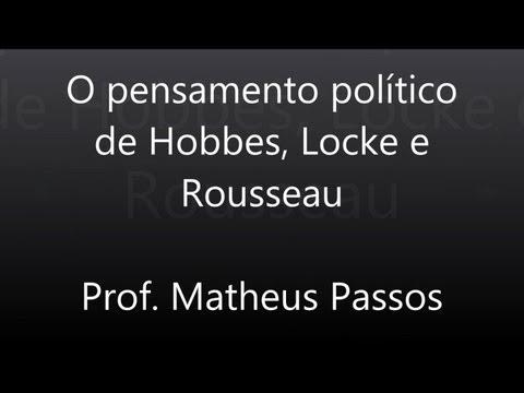 Видео Ciências política justiça e propriedade Hobbes locke e roussuau