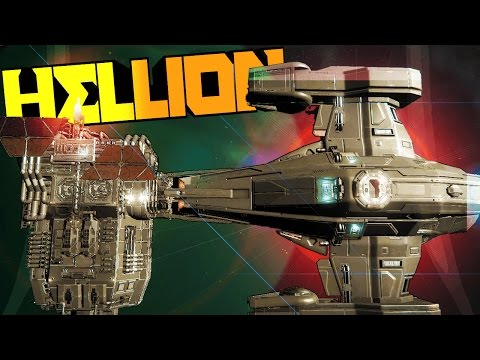 Hellion - DOCKING THE SPACESHIP & AIRLOCK, HOW TO GET STARTED TUTORIAL - Early Access Gameplay