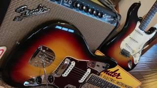 1965 100% Under The Bed Fender Strat Jaguar EddieVegas.com