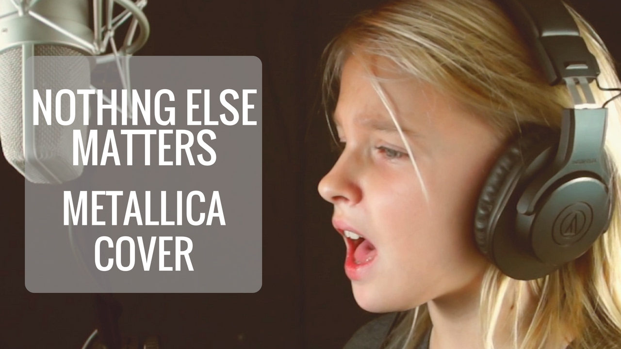 Nothing Else Matters (Metallica cover) by 11 Year Old Jadyn Rylee | Kidz Sparkle