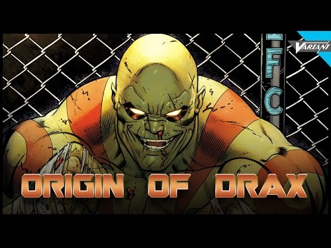 Origin Of Drax The Destroyer!