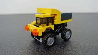 How to Build a LEGO Dump Truck | brickitect