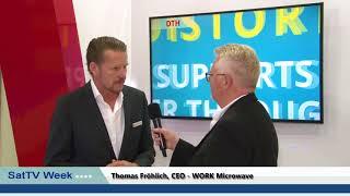 SatTV talks to WORK Microwave