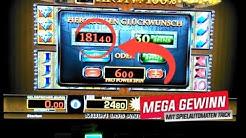 Merkur Lucky Pharao Gewinn Jackpot - 80 Cent Einsatz  (Merkur M-Box 2020 TR5)
