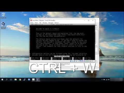 Cara Konfigurasi Linux Debian 7 (IP Address, DHCP Server, Squid, Firewall)