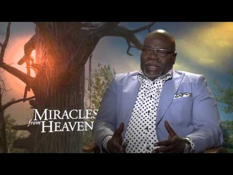 Miracles From Heaven: Producer TD Jakes Official Movie Interview