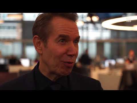 Jeff Koons in der Berliner WELT-Redaktion