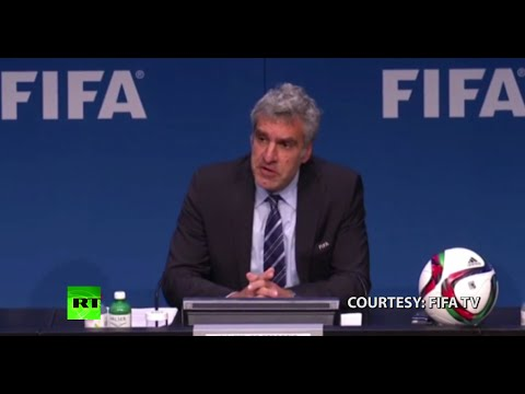 FIFA on arrests: This is good for us in terms of cleaning up (FULL PRESSER)