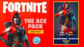 How To Get The ACE PACK for FREE In Fortnite: Battle Royale! [STARTER PACK 3] *NEW*