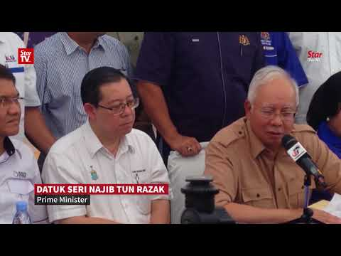 Najib: Govt will consider allocating extra funds to resolve Penang flood problems